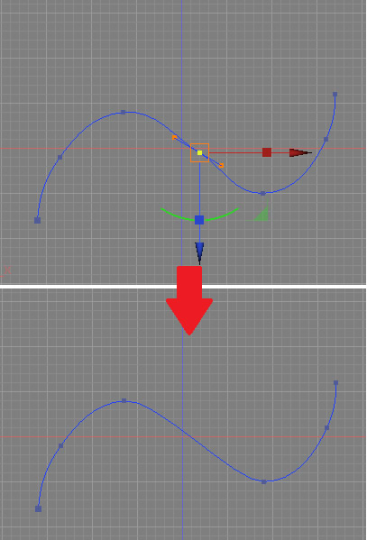 shade3d_modeling_line_remove_point